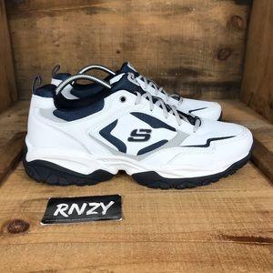 NEW Skechers Memory Foam Leather Sneaker
